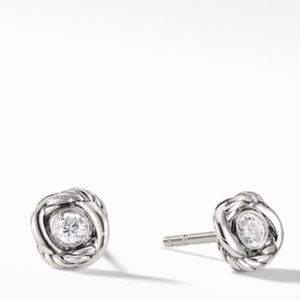 David Yurman Infinity Diamond Earrings